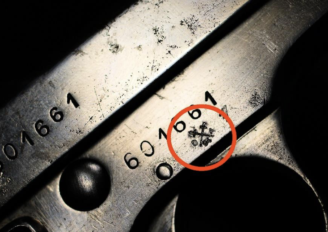 deactivated gun proof stamp