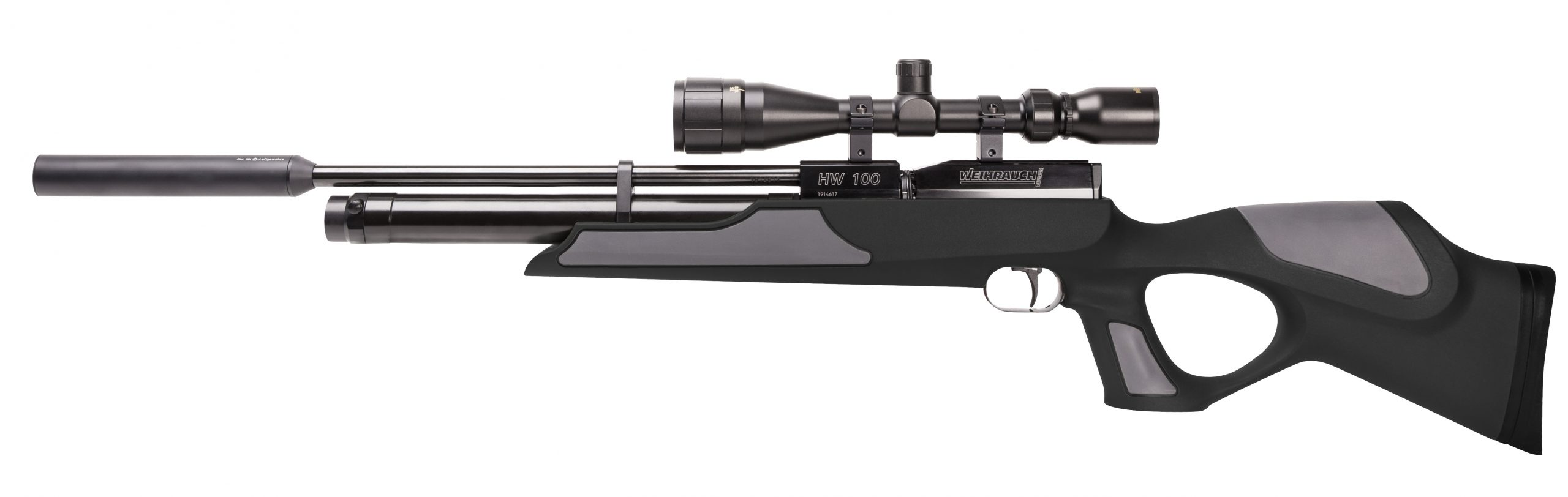 Weihrauch HW100 T Synthetic Stock Black