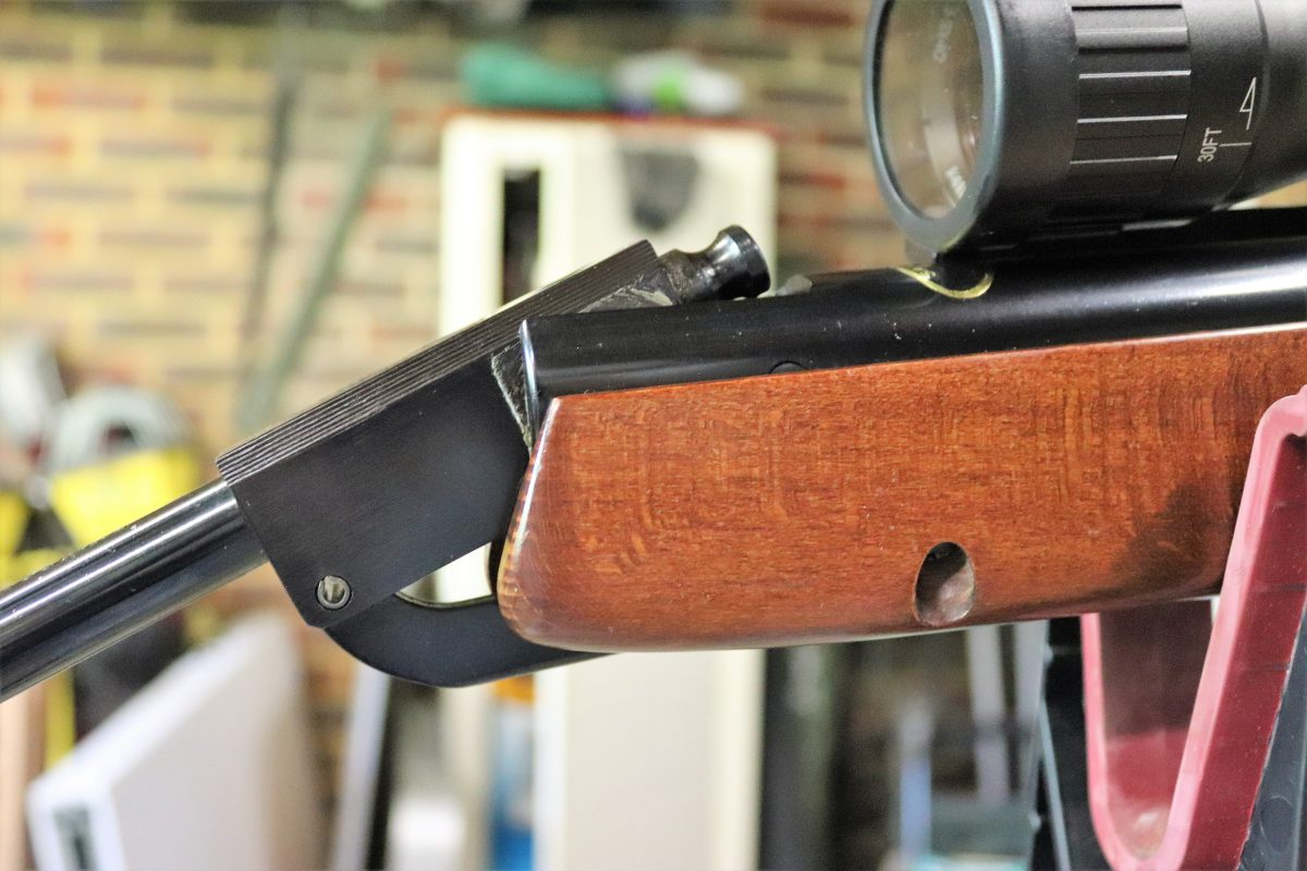 used spring air rifle