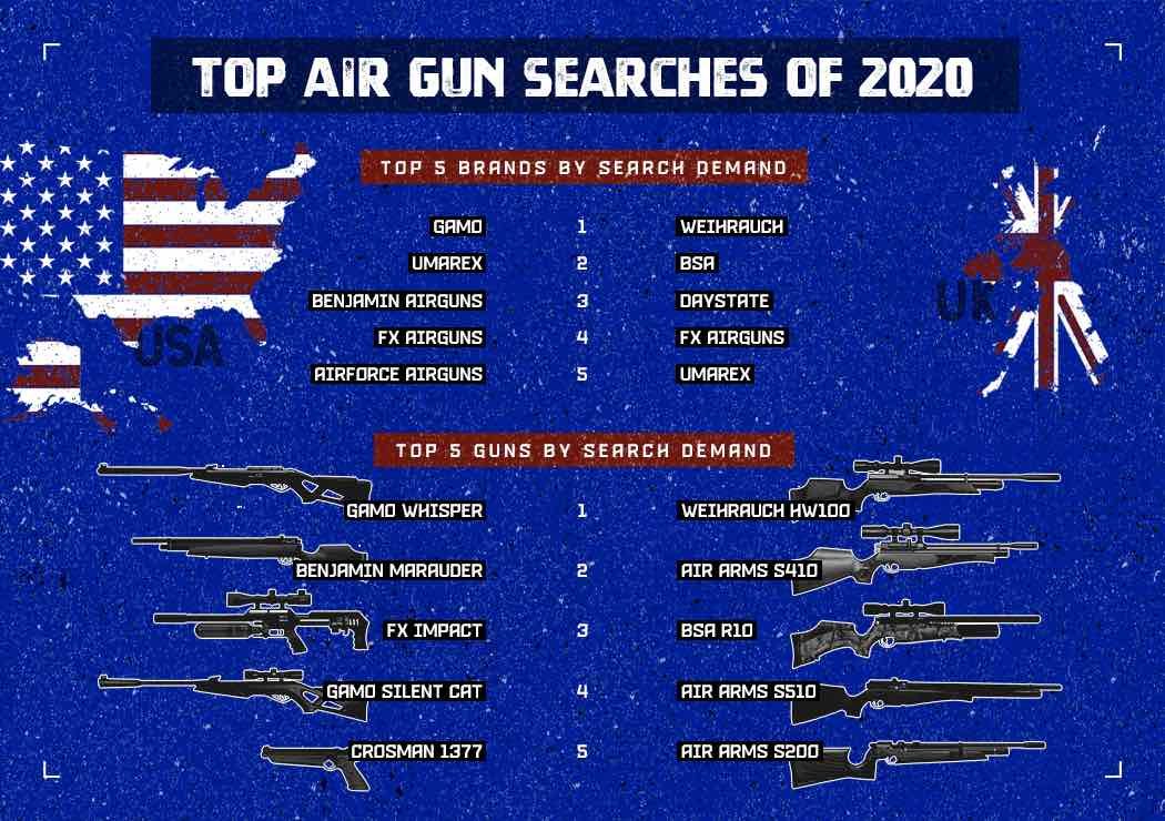 top 5 air rifles