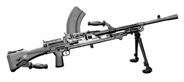 deactivated Bren gun