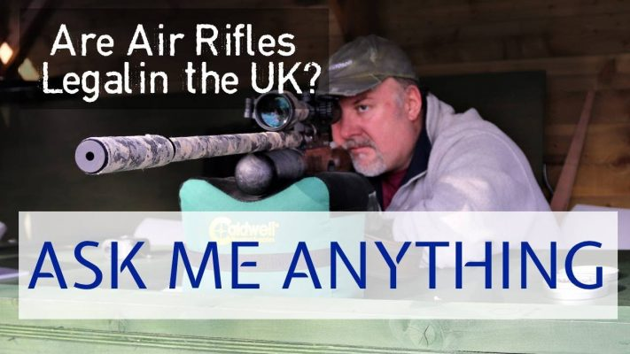 air rifles legal in uk
