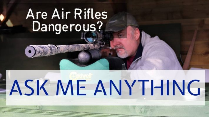 are air rifles dangerous