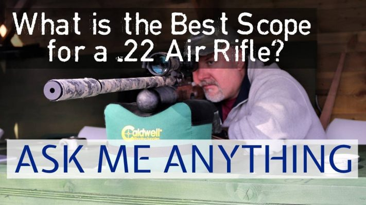 best scope for a 22 air rifle