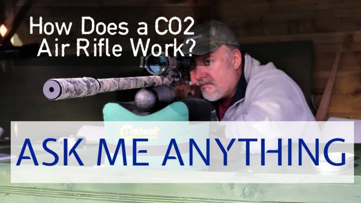 how does co2 air rifle work