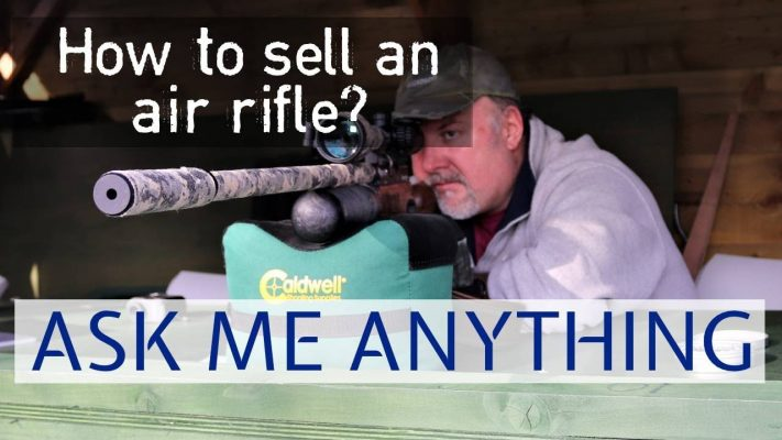 how to sell an air rifle