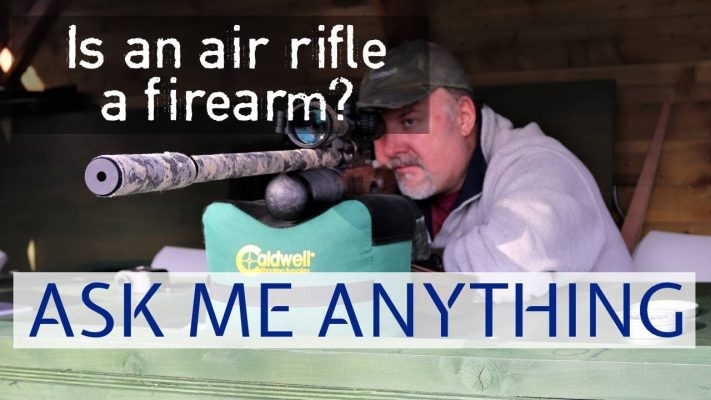 is an air rifle a firearm