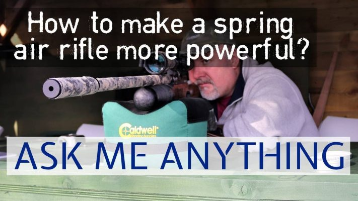 spring air rifle more powerful
