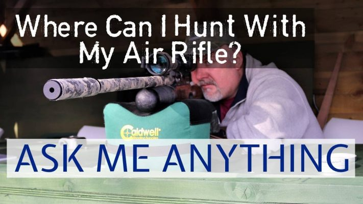 where can i hunt with my air rifle
